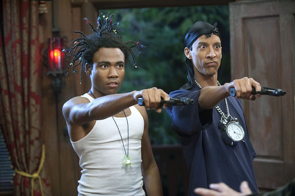 Donald Glover and Danny Pudi in 'Community'
