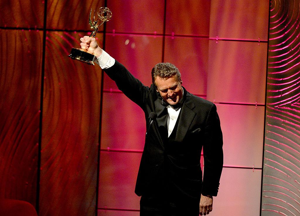 Doug Davidson accepts a Daytime Emmy Award