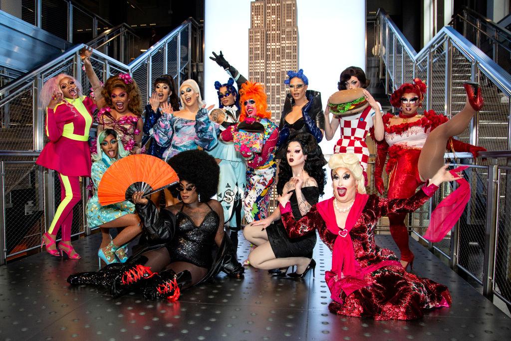 The cast of 'RuPaul's Drg Race' season 12