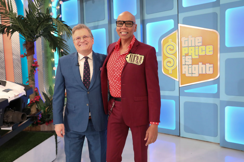 Drew Carey and RuPaul