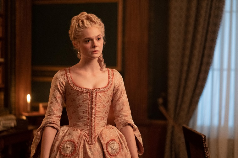 Elle Fanning in 'The Great'
