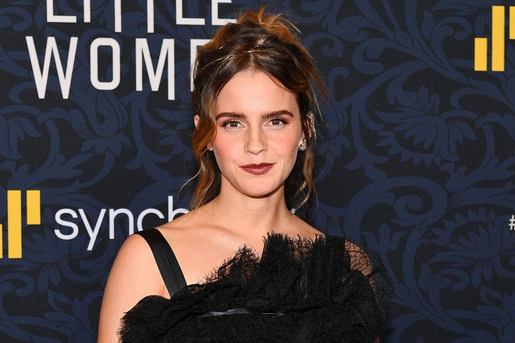 Emma Watson attends the world premiere of 'Little Women'