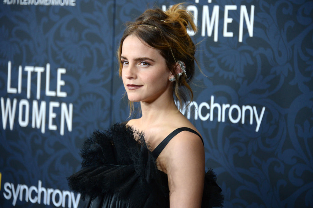 Emma Watson star of the Harry Potter movies