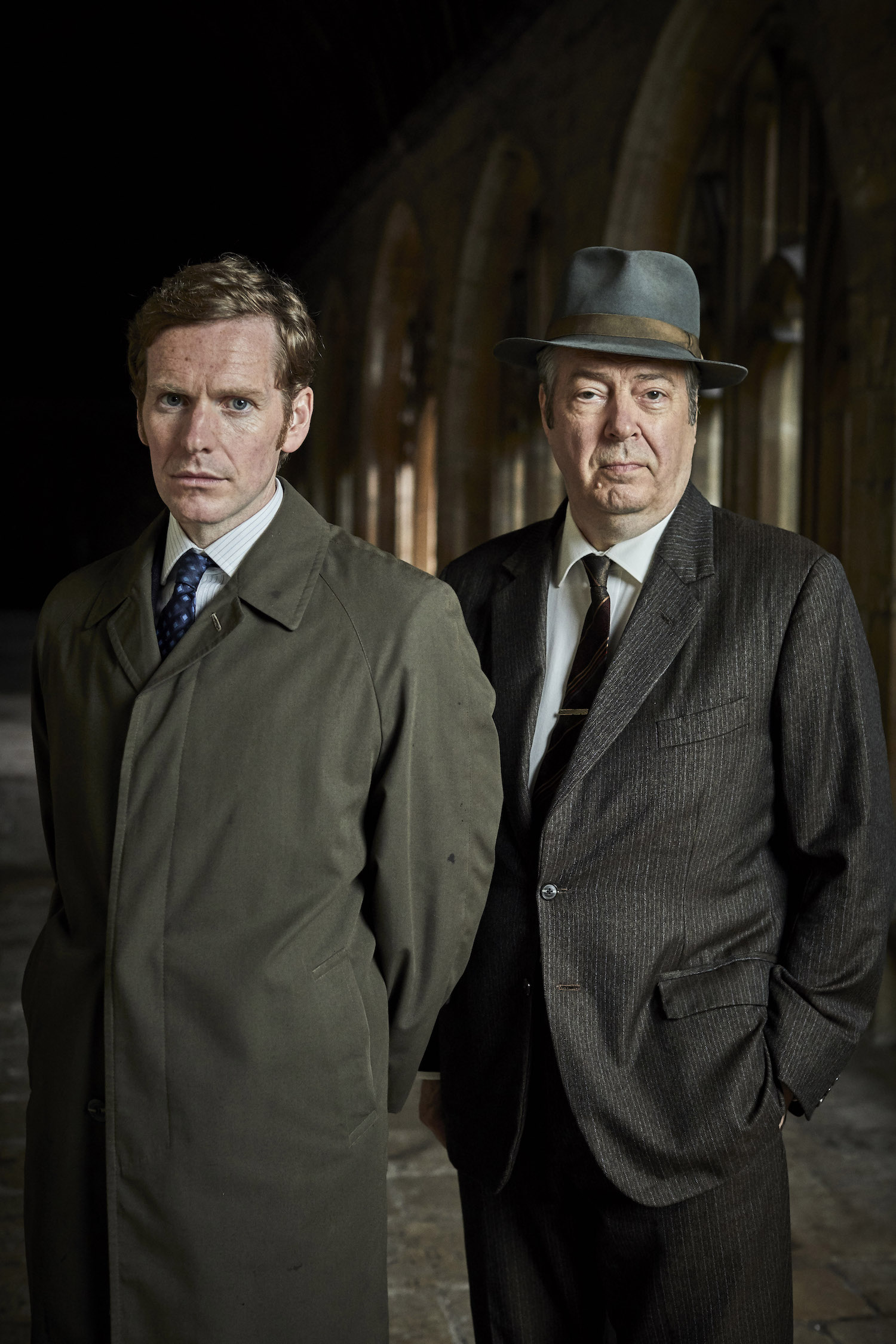 Shaun Evans as Morse and Roger Allam as Fred Thursday in 'Endeavour' on PBS