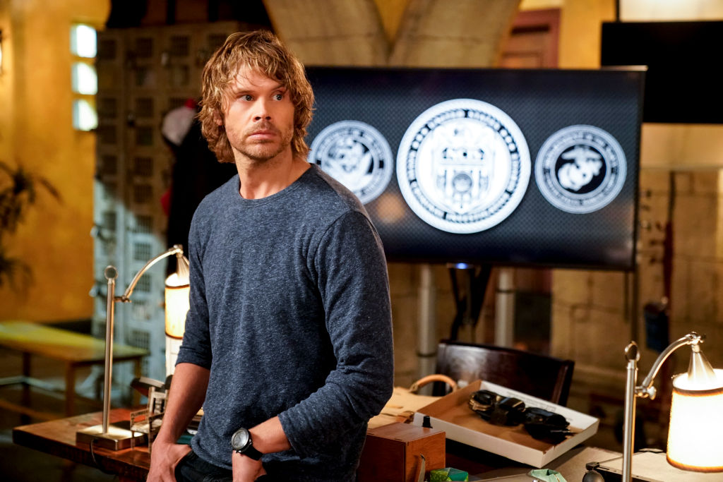 Eric Christian Olsen on the set of NCIS LA | Erik Voake/CBS via Getty Images