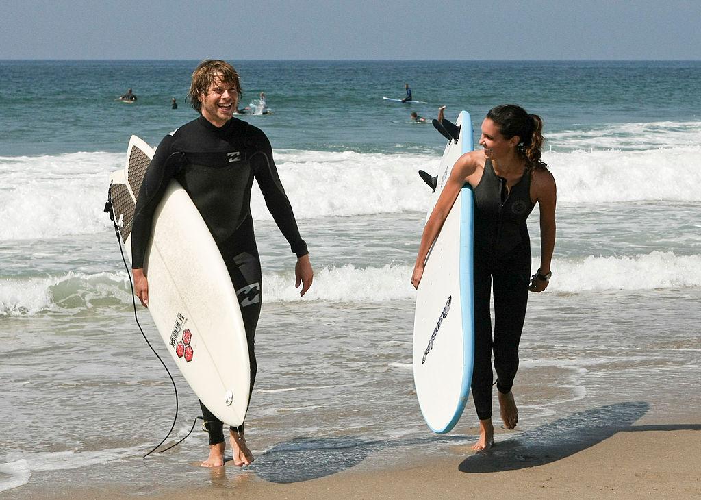 Eric Christian Olsen and Daniela Ruah as Deeks and Kensi  Robert Voets/CBS via Getty Images