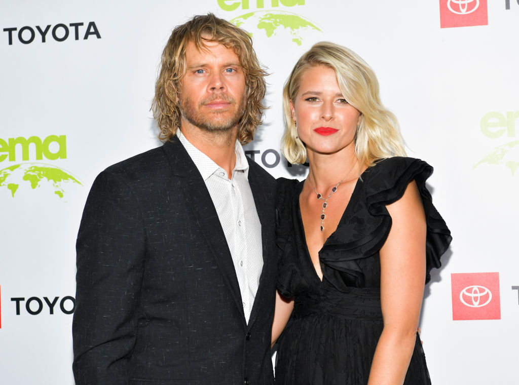 Eric Christian Olsen and Sarah Wright | Rodin Eckenroth/WireImage
