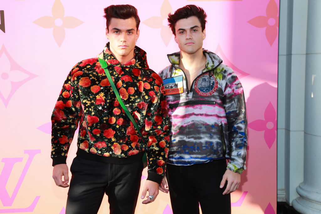 Grayson Dolan and Ethan Dolan