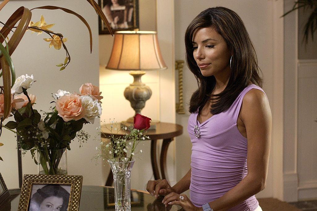 Eva Longoria on the set of Desperate Housewives | Ron Tom/Walt Disney Television via Getty Images