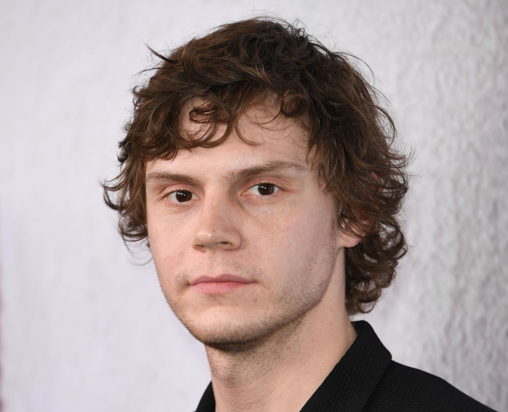 Actor Evan Peters arrives for the 'American Horror Story: Cult'