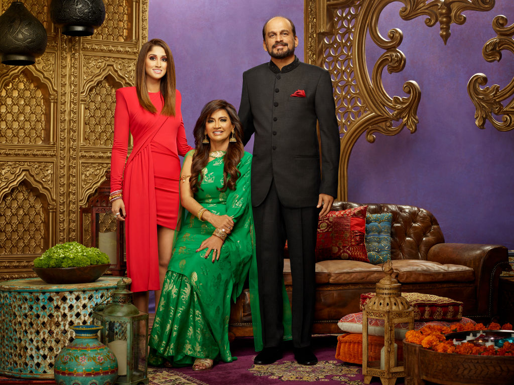 Anisha Ramakrishna, Chitra Ramakrishna, Ram Ramakrishna from 'Family Karma'
