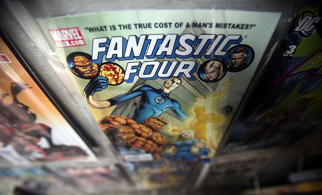 Marvel Fantastic Four comic