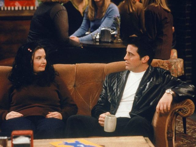 Fat Monica and Joey