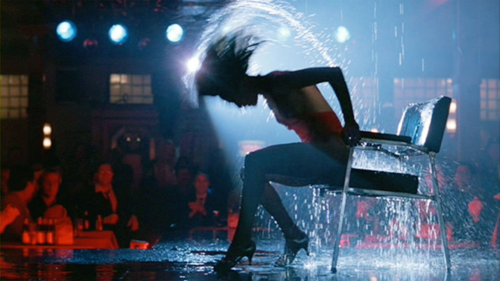 Flashdance wet dance
