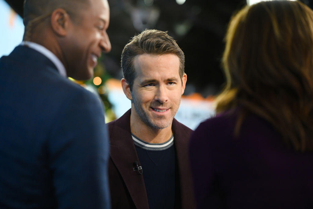 Free Guy star Ryan Reynolds