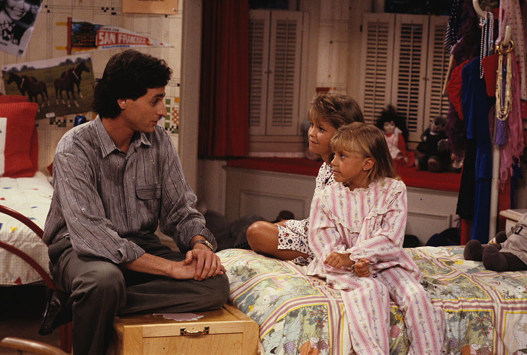 Characters Danny and Stephanie of 'Full House'