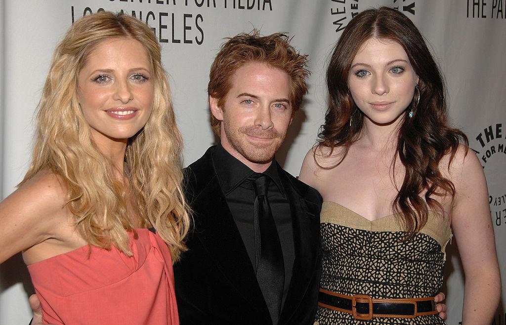 Sarah Michelle Gellar, Seth Green and Michelle Trachtenberg of 'Buffy The Vampire Slayer'
