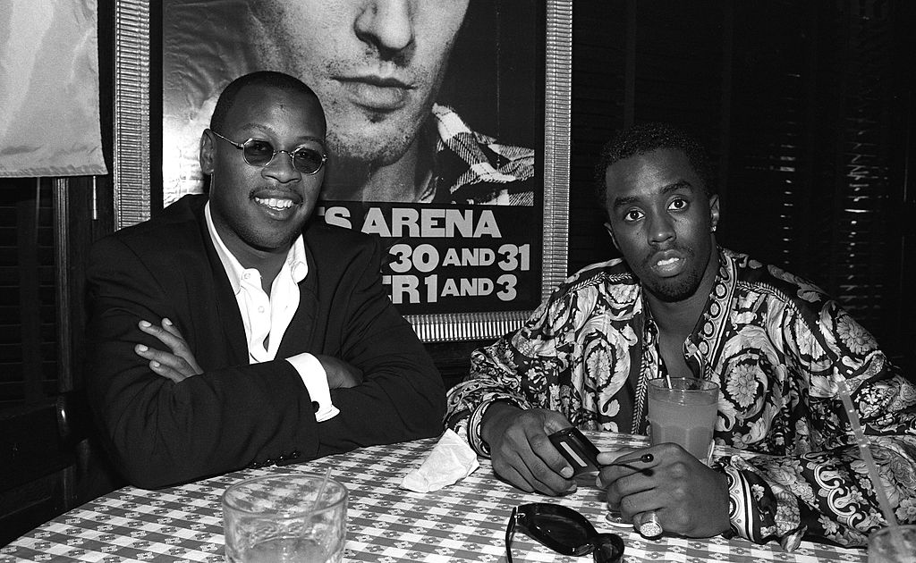 Andre Harrell and Diddy