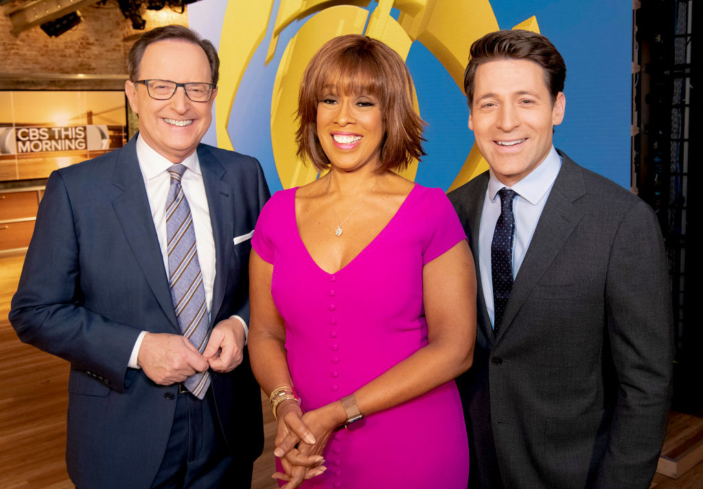 Anthony Mason, Gayle King, and Tony Dokoupil of 'CBS This Morning'