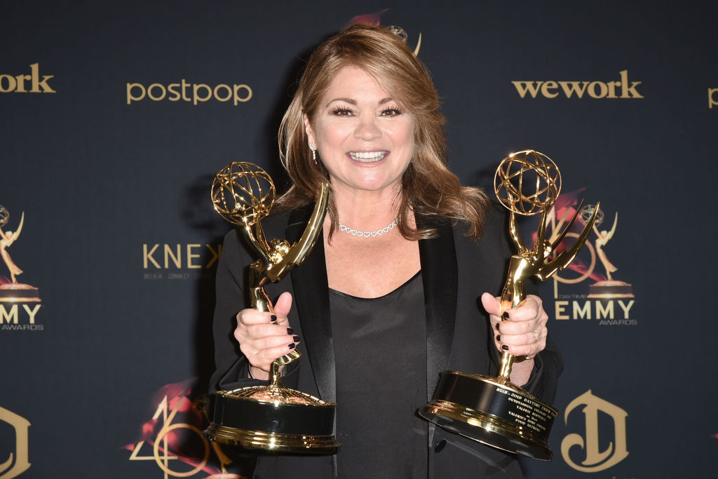 Food Network host Valerie Bertinelli at the Daytime Emmy Awards ceremony in 2019
