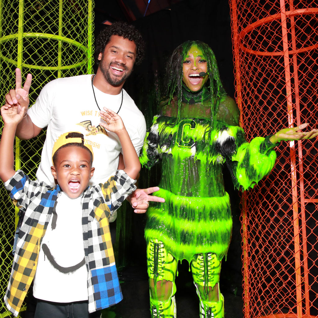 Russell Wilson, Baby Future, and Ciara