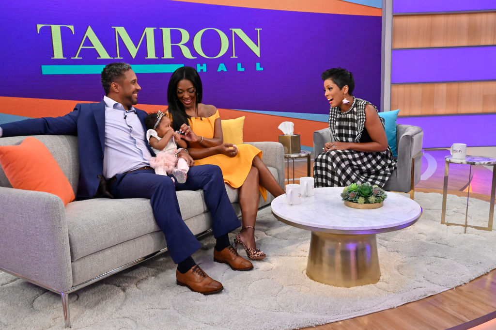 Marc Daly, Brooklyn Daly, and Kenya Moore on 'The Tamron Hall Show'