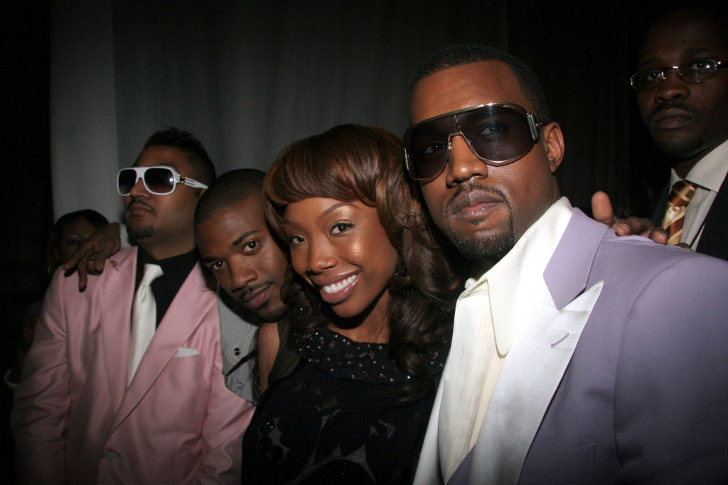 Don C, Ray J, Brandy and Kanye West