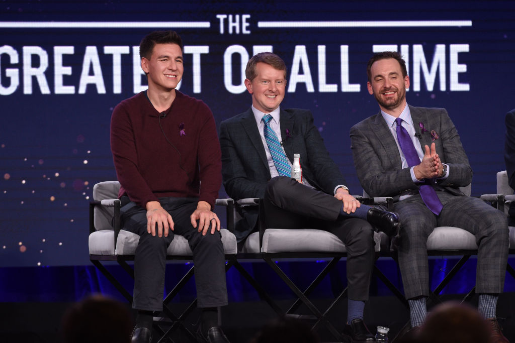 'Jeopardy!' Greatest Of All Time Tournament featuring James Holzhauer, Ken Jennings, and Brad Rutter