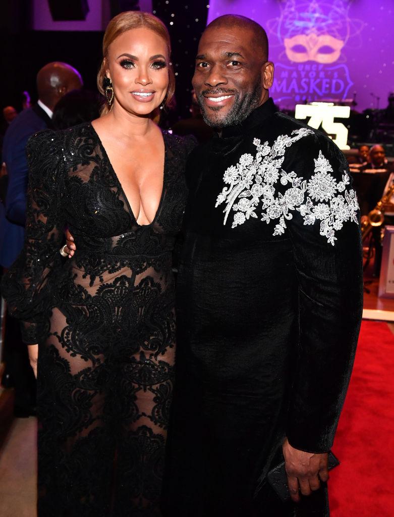 Gizelle Bryant and Jamal Bryant