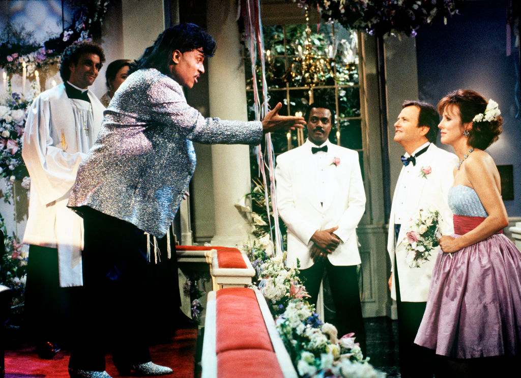 Little Richard in a wedding scene from 'One  Life to Live' 1995