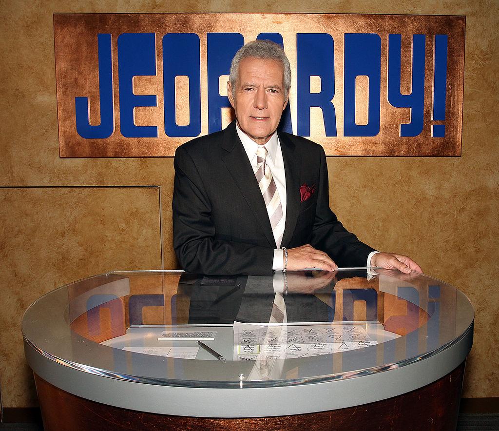 Alex Trebek in 'Jeopardy!'