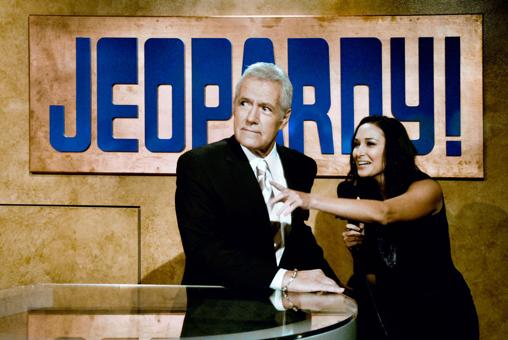 Alex Trebek, host of 'Jeopardy!'