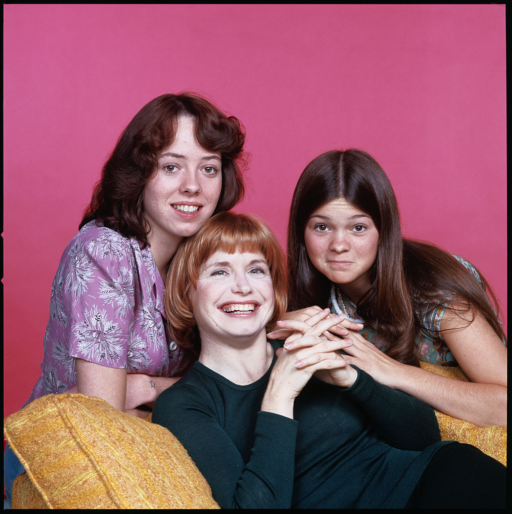 Mackenzie Phillips, Bonnie Franklin, and Valerie Bertinelli of 'One Day At A Time'