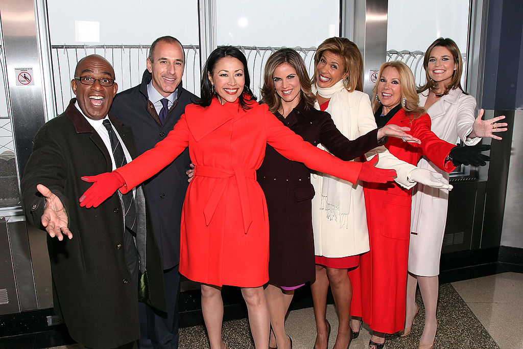 Ann Curry, Matt Lauer and their 'Today' colleagues in 2012