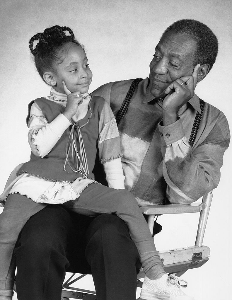 Raven-Symoné and Bill Cosby