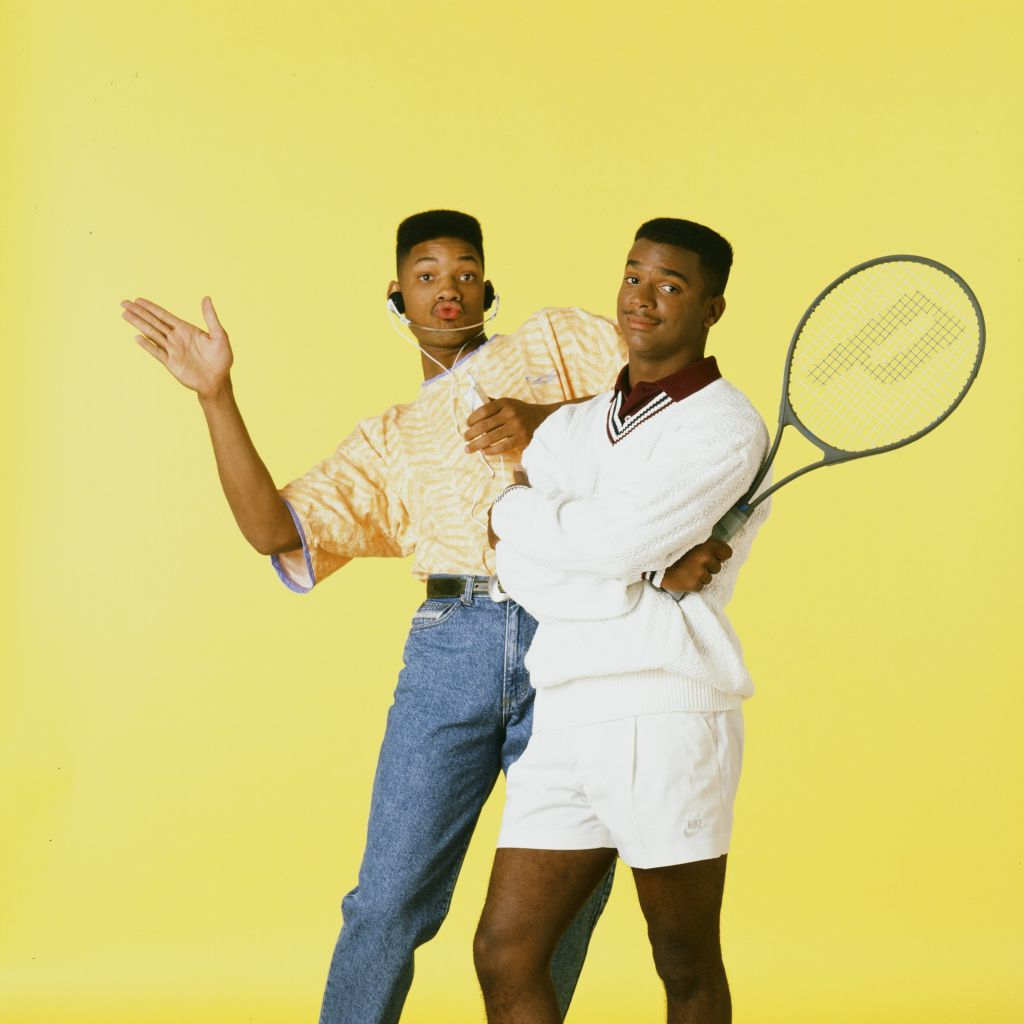 Will Smith and Alfonso Ribeiro in 'The Fresh Prince'