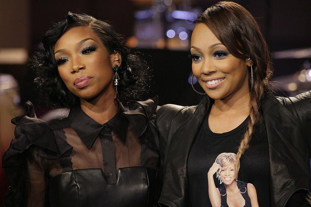 Brandy and Monica