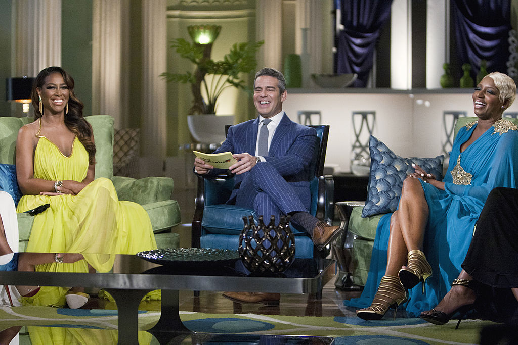 Kenya Moore, Andy Cohen, and Nene Leakes