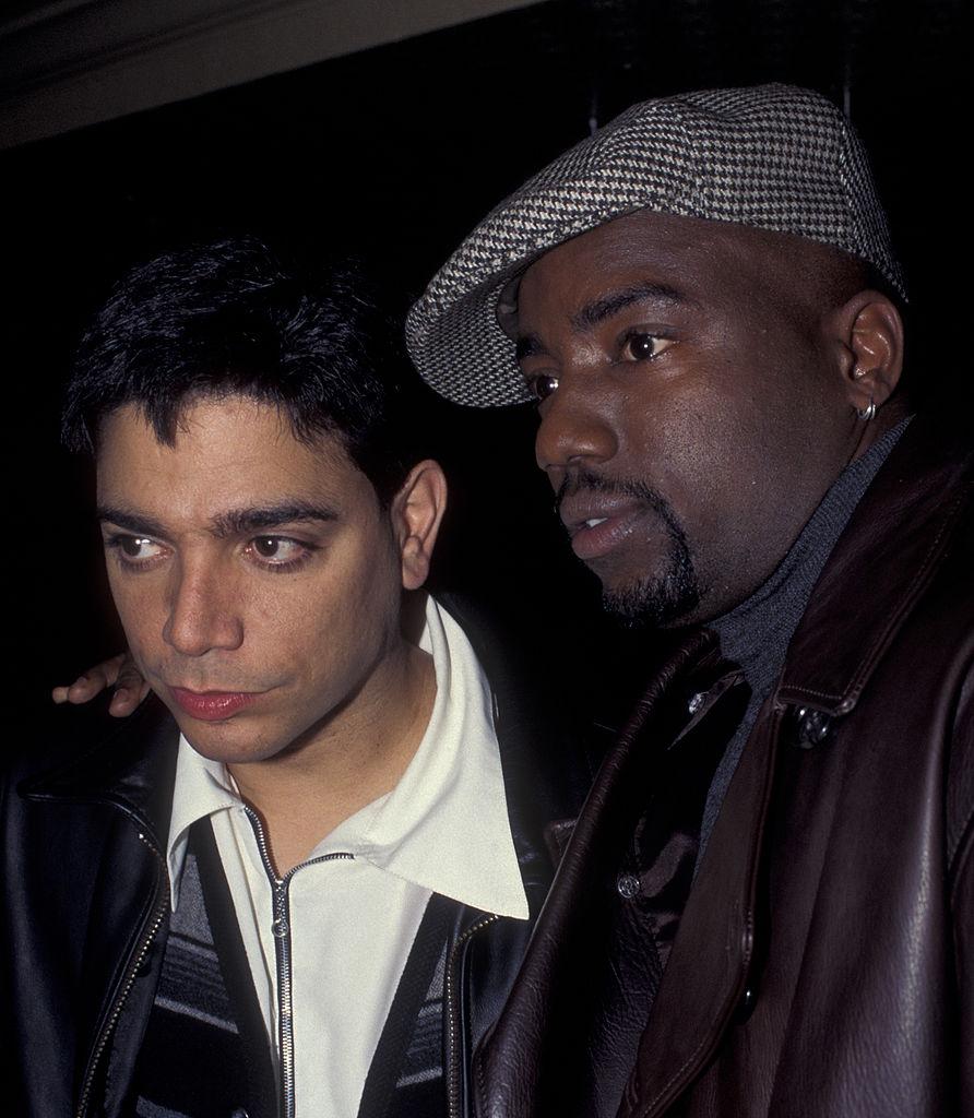 Michael DeLorenzo and Malik Yoba