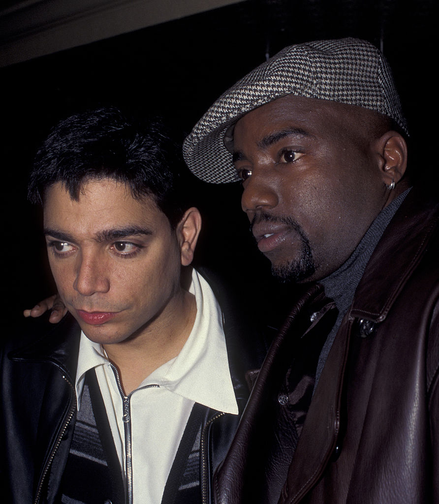 Michael DeLorenzo and Malik Yoba