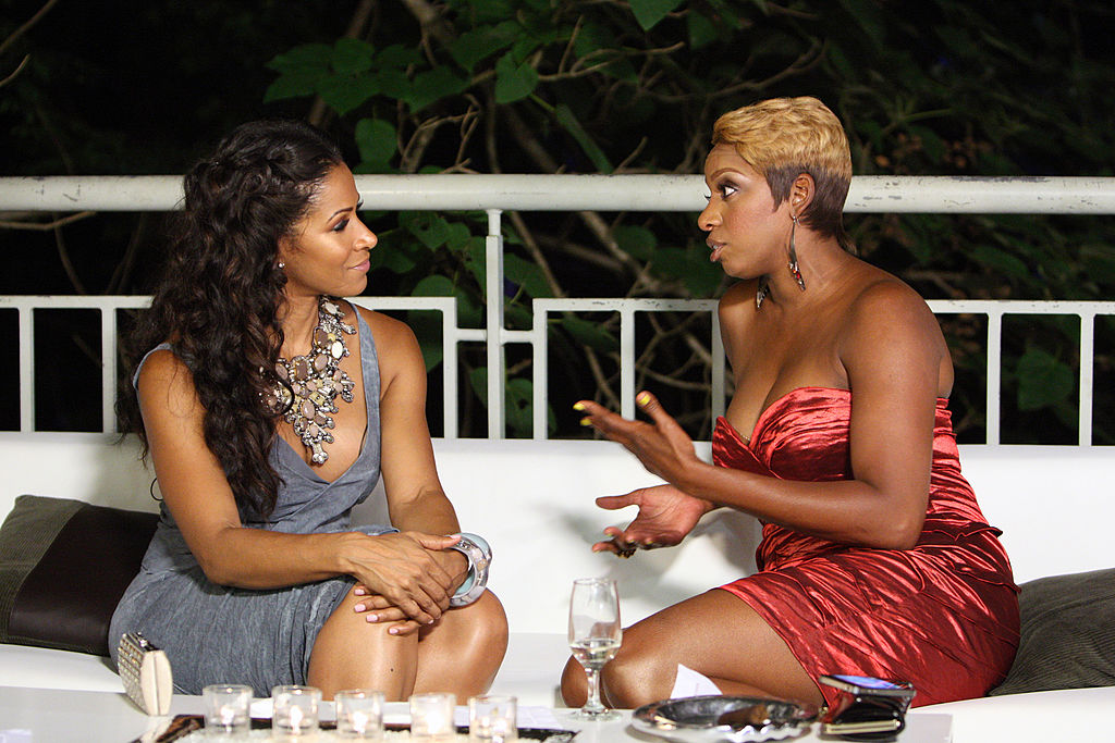 Sheree Whitfield and Nene Leakes