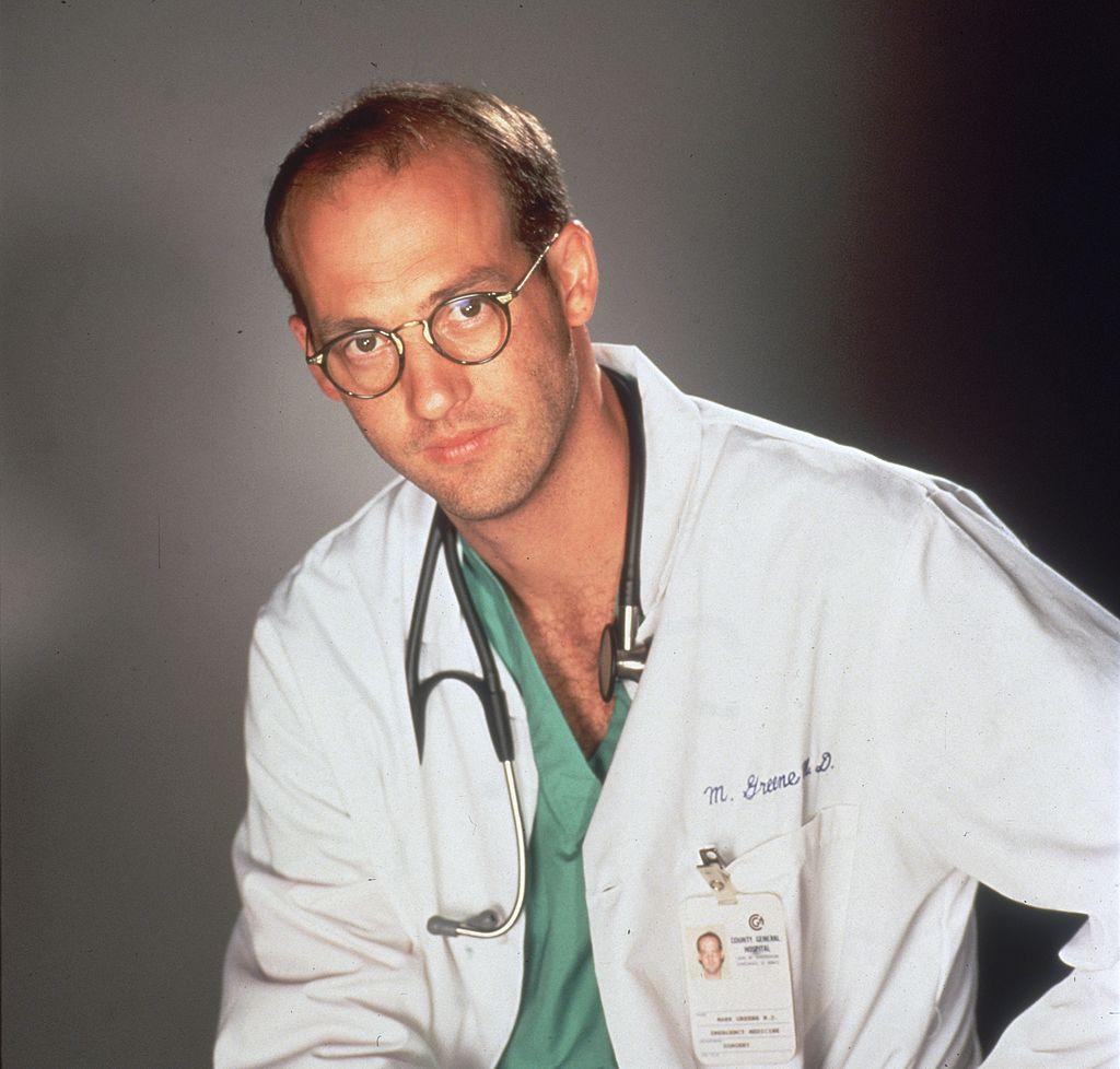 Anthony Edwards as Dr. Mark Greene on 'ER'