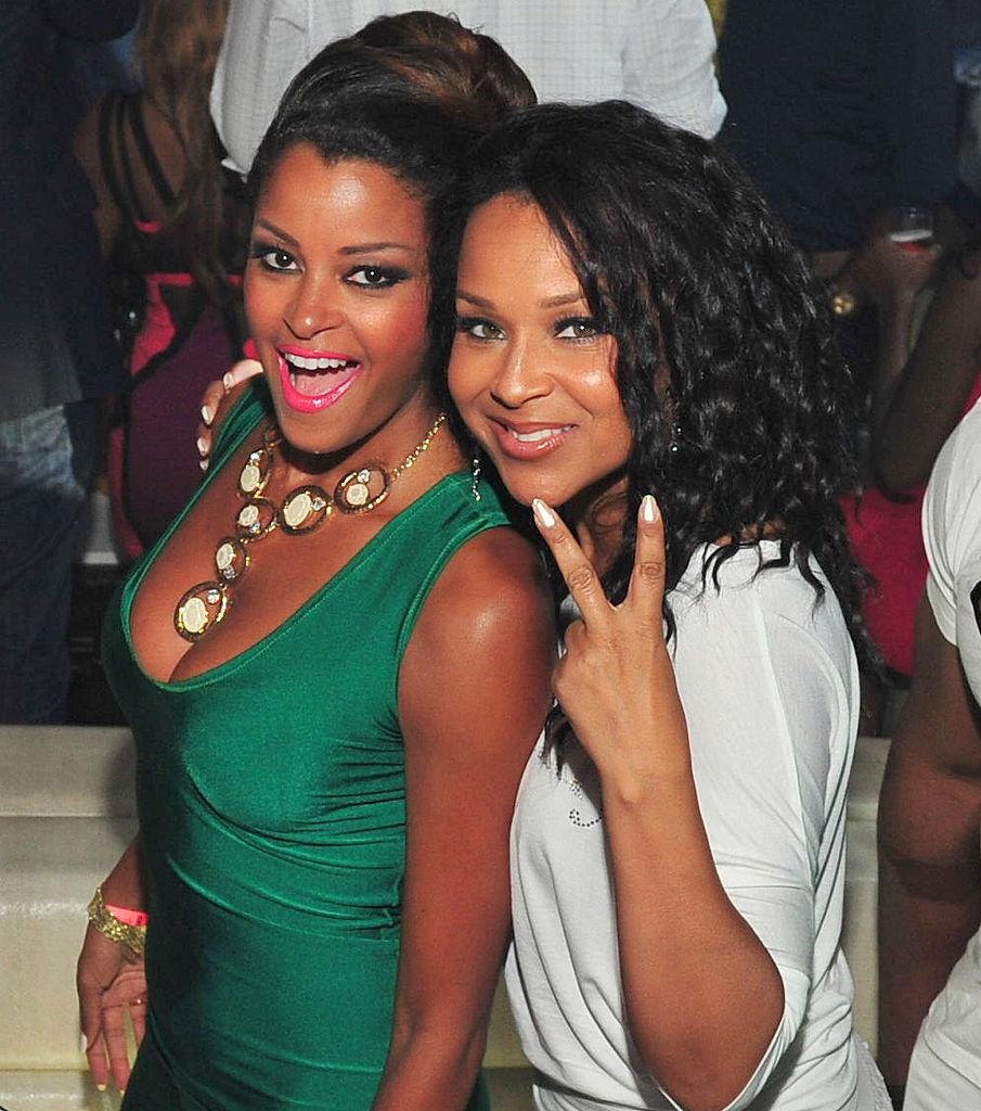Claudia Jordan and LisaRaye McCoy