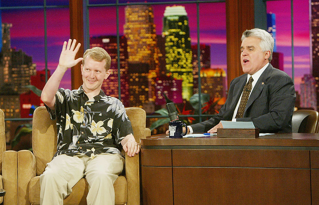Ken Jennings on 'The Tonight Show with Jay Leno', 2004