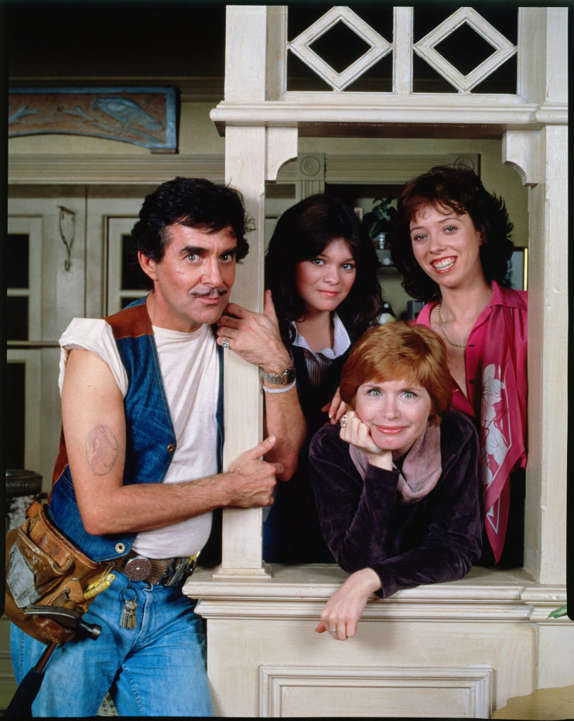 The cast of 'One Day At A Time' 1977