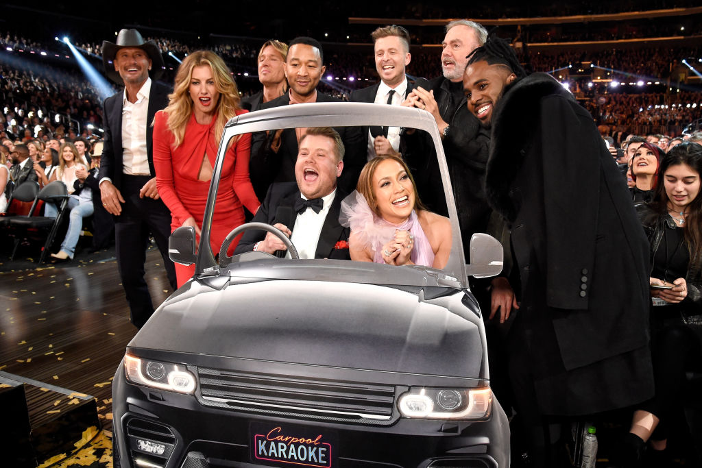 James Corden and friends