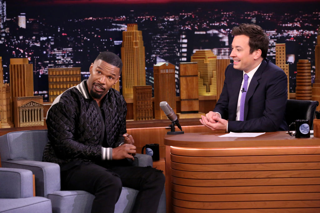 Jamie Foxx and Jimmy Fallon