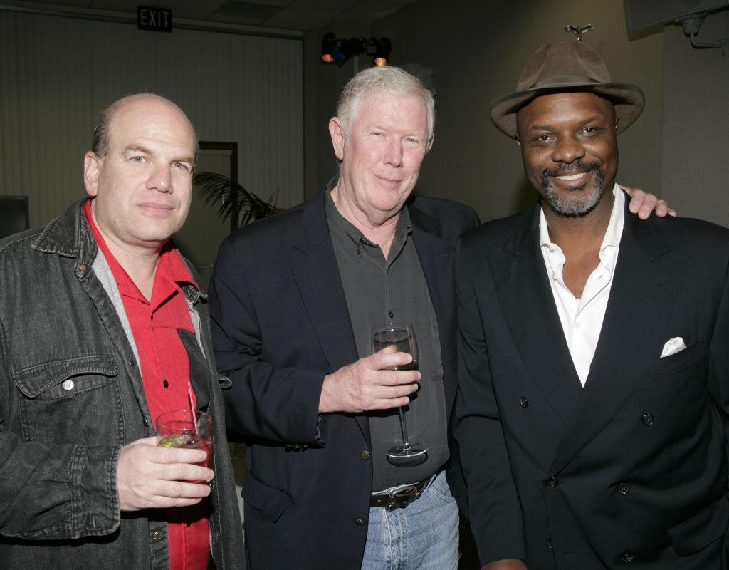 David Simon, Creator/Executive Producer, Ed Burns and Robert Wisdom
