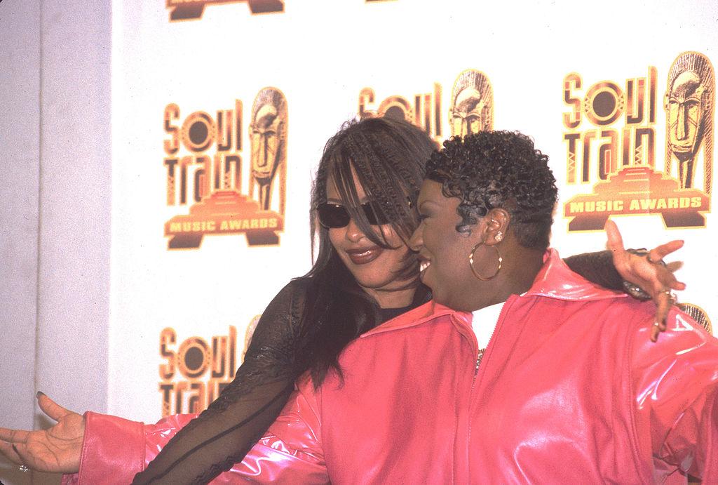 Aaliyah and Missy Ellior