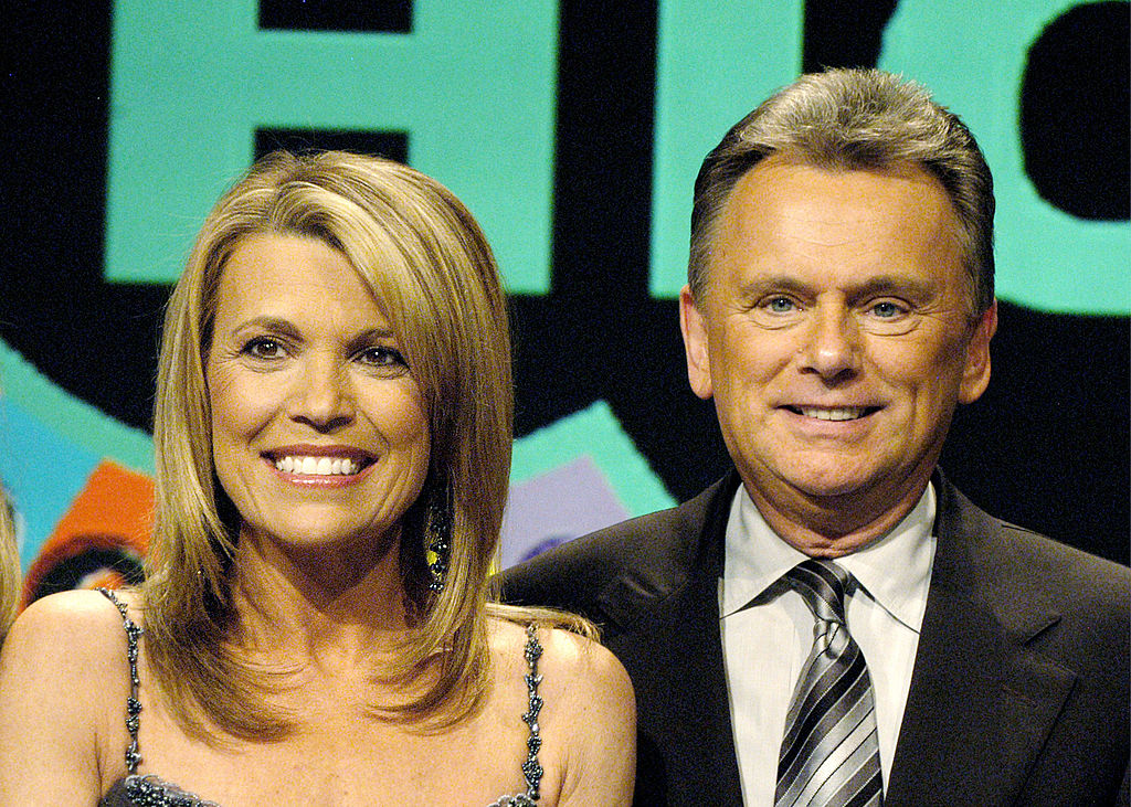 'Wheel of Fortune' hosts Vanna White and Pat Sajak
